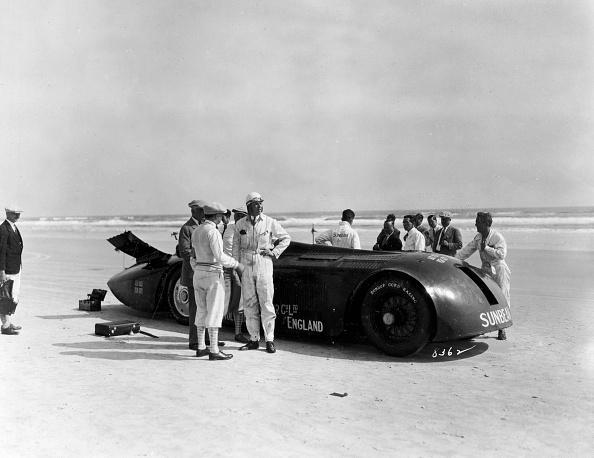 Effort「Sunbeam 1000hp World Land speed record attempt at Daytona 1927」:写真・画像(2)[壁紙.com]