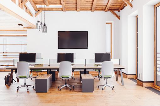 Coworking「Loft Office Interior」:スマホ壁紙(6)