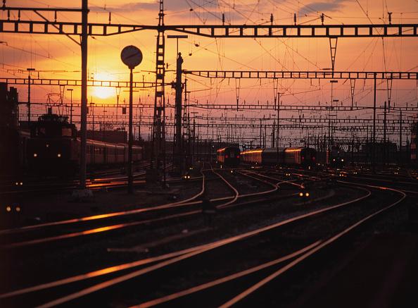 Light Trail「Main Station at Sunset, City of Zurich, Canton of Zurich, Switzerland」:写真・画像(2)[壁紙.com]