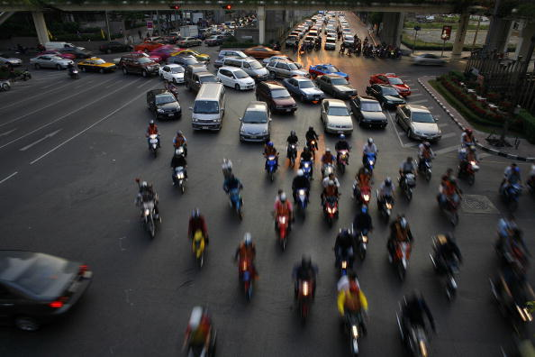 Traffic「Bangkok Battles Legendary Traffic Chaos」:写真・画像(12)[壁紙.com]