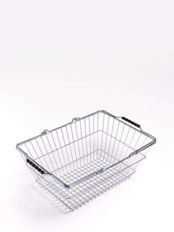Supermarket「Empty supermarket shopping basket」:スマホ壁紙(1)