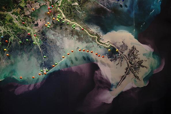 Island「Combination Of Rising Sea Levels And Subsiding Land Endanger Louisiana Coast」:写真・画像(6)[壁紙.com]