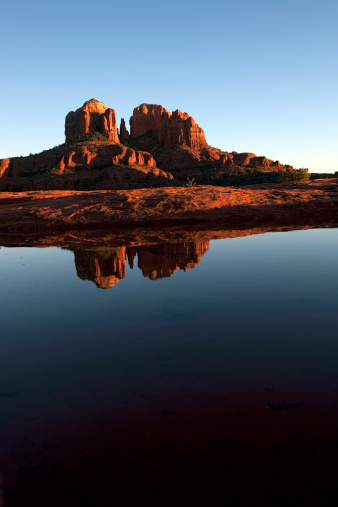 Sedona「Cathedral Rock Sedona Arizona」:スマホ壁紙(15)