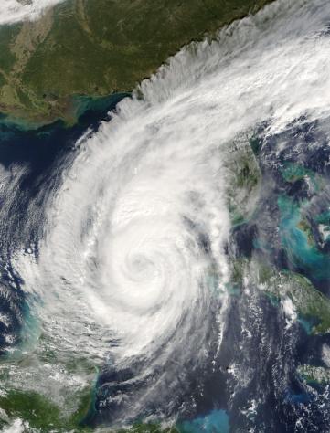 Extreme Weather「Terra satellite image of hurricane Wilma as it approaches Florida」:スマホ壁紙(3)