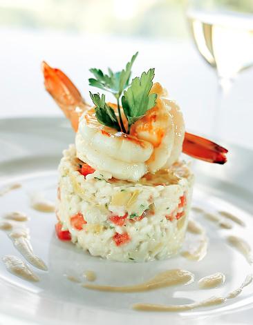 Prawn - Seafood「seafood risotto」:スマホ壁紙(2)