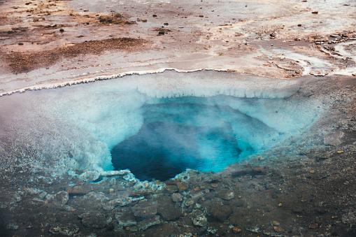 アイスランド ゴールデンサークル「アイスランドの地熱地帯」:スマホ壁紙(13)