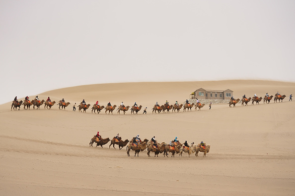Tourism「Daily Life In Dunhuang」:写真・画像(5)[壁紙.com]
