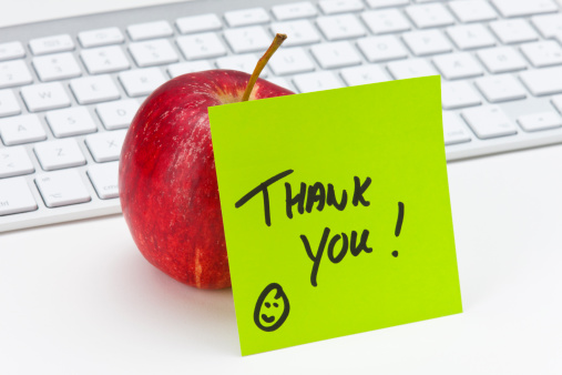Writing「Thank You」:スマホ壁紙(2)