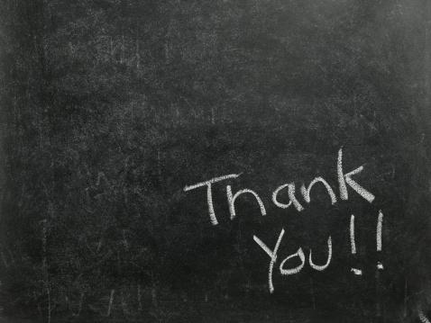 Writing「Thank You」:スマホ壁紙(1)