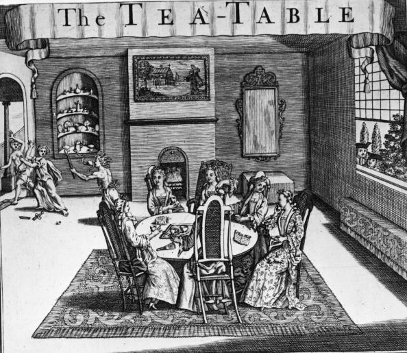 Illustration Technique「The Tea Table」:写真・画像(13)[壁紙.com]