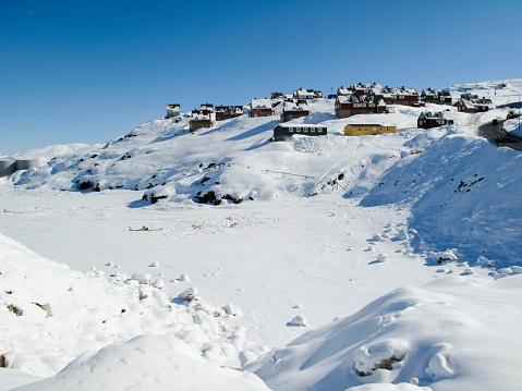 Pack Ice「Tasiilaq village, Greenland」:スマホ壁紙(4)