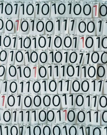 Zero「Binary code」:スマホ壁紙(19)