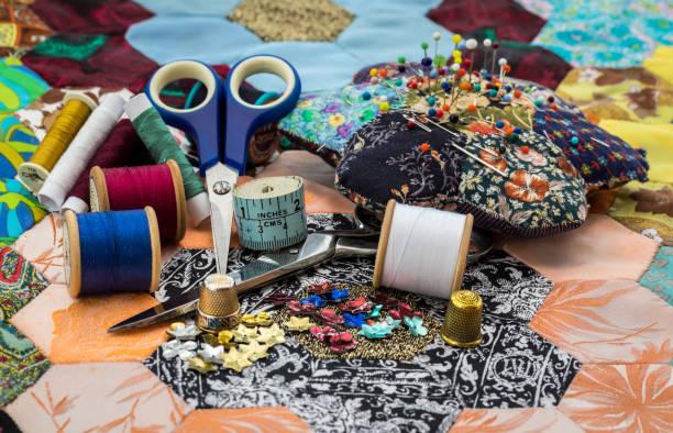 Sewing Equipment / Patchwork Quilt:スマホ壁紙(壁紙.com)
