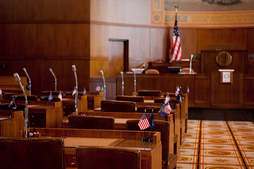 Government Building「Senate Chamber Oregon State Capitol」:スマホ壁紙(17)