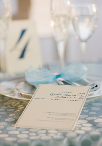 Wedding Invitation「Wedding table placesetting」:スマホ壁紙(6)