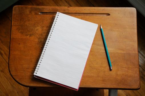Note Pad「Antique Desk」:スマホ壁紙(7)