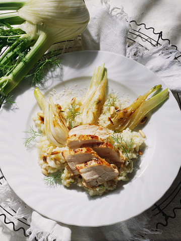 Fennel「Chicken Risotto with Fennel」:スマホ壁紙(19)