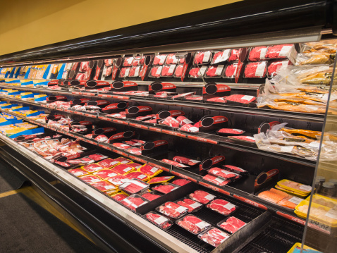 Cold Temperature「Meat section of grocery store」:スマホ壁紙(14)