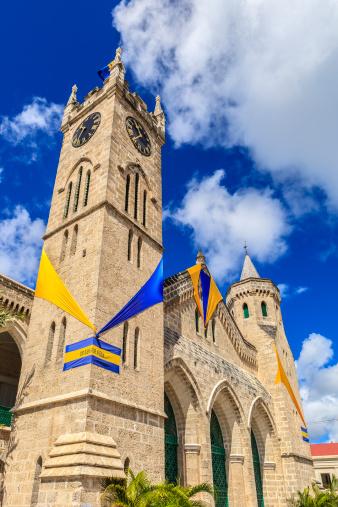 Cumulus Cloud「Parliament Building, Bridgetown, Barbados」:スマホ壁紙(16)