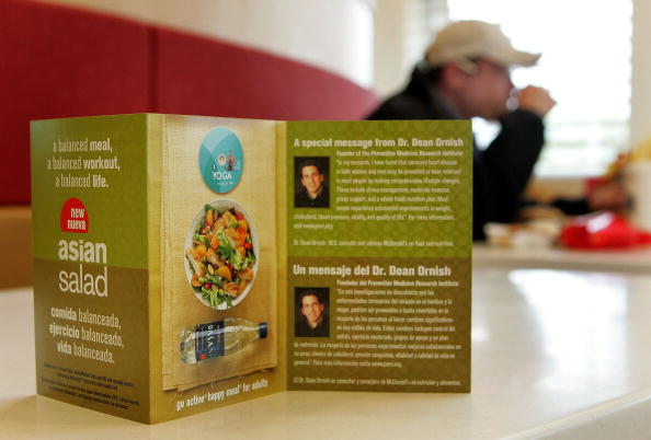 Salad「McDonalds Begins Selling Fitness Videos」:写真・画像(11)[壁紙.com]