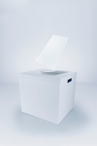 Voting Ballot「Voting Paper entering Ballot Box」:スマホ壁紙(17)