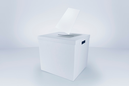 Voting Ballot「Voting Paper at the Ballot Box」:スマホ壁紙(15)