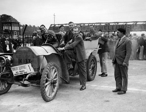 Recreational Pursuit「Mercedes, winner of the 1906 Ballinaslaughter Hill Climb, Old Crocks Race, Brooklands, 1931」:写真・画像(9)[壁紙.com]
