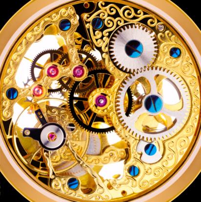 Digital Composite「Internal mechanism of Edwardian pocket watch」:スマホ壁紙(12)