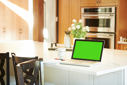 Laptop「Home can be a place of work too」:スマホ壁紙(5)