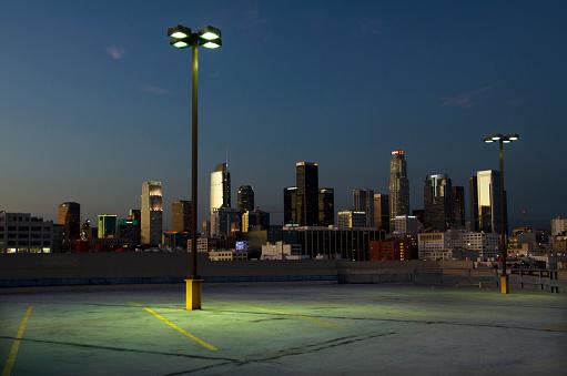 Road Marking「Parking Lot View of Los Angeles」:スマホ壁紙(8)