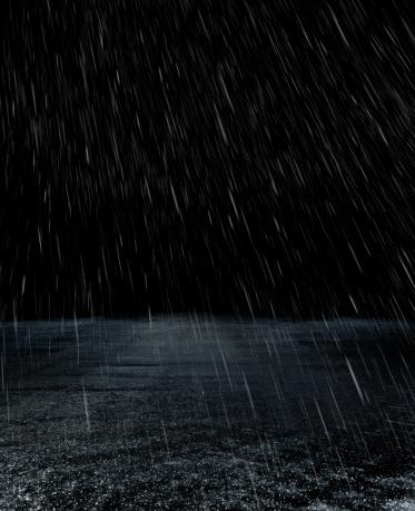 Rain「Parking lot in rain」:スマホ壁紙(13)