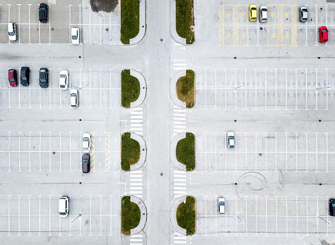 Parking Lot「Parking lot from above」:スマホ壁紙(7)