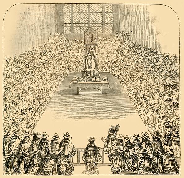 17th Century「House Of Commons In 1623」:写真・画像(13)[壁紙.com]