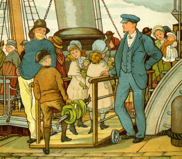 Passenger Craft「Crossing the channel and boarding the ferry」:写真・画像(14)[壁紙.com]