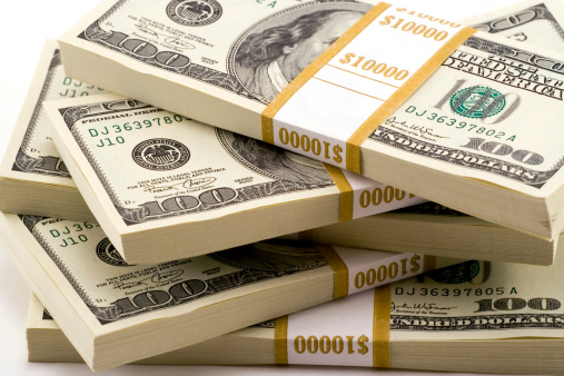 American One Hundred Dollar Bill「Stack Of Cash」:スマホ壁紙(10)
