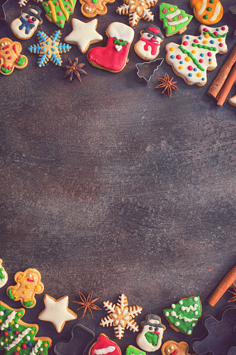 Gingerbread Cookie「Homemade Christmas Gingerbread Cookies」:スマホ壁紙(1)