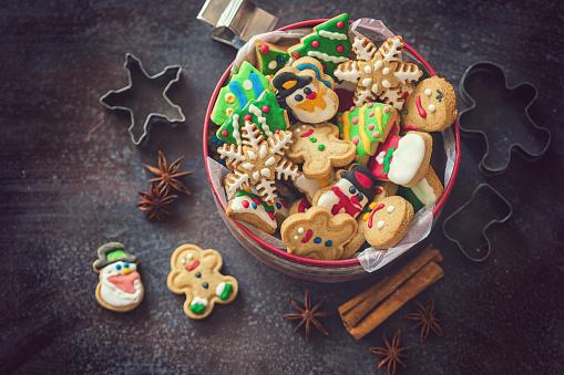 Gingerbread Cookie「Homemade Christmas Gingerbread Cookies」:スマホ壁紙(3)