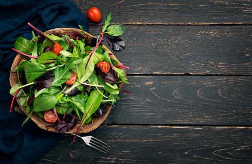 Lettuce「Colorful vegetable salad」:スマホ壁紙(11)
