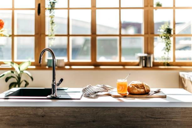 Kitchen counter:スマホ壁紙(壁紙.com)