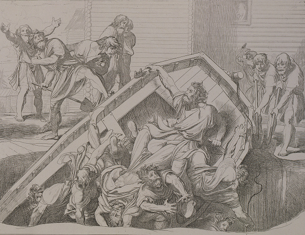 Etching「Olgas Avenge To The Drevlians,」:写真・画像(14)[壁紙.com]