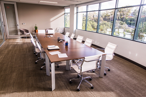 Convention Center「Empty Business Conference Room」:スマホ壁紙(2)