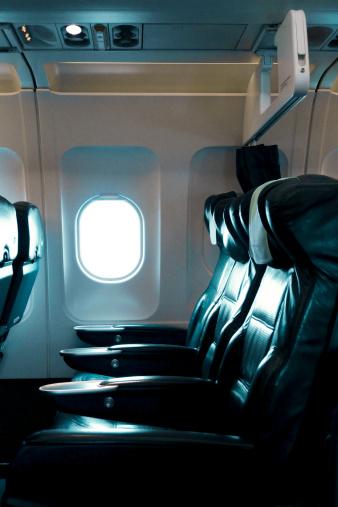 Passenger Cabin「Empty business class airline seats」:スマホ壁紙(11)