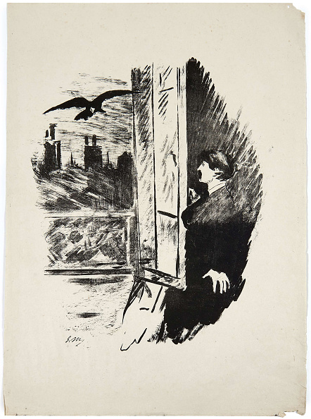 Broccoli「Illustration For The Poem Le Corbeau The Raven By Edgar Allan Poe」:写真・画像(16)[壁紙.com]