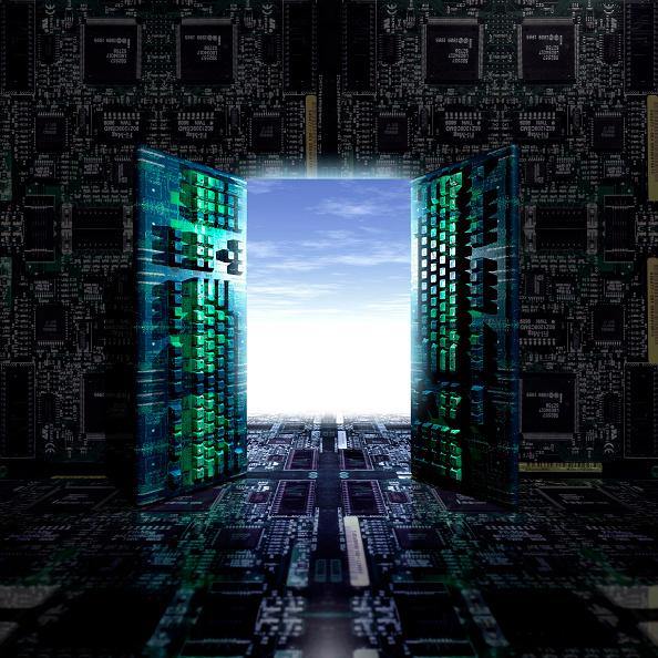Door「Illustration Computer Keybords, Digital Future.」:写真・画像(5)[壁紙.com]