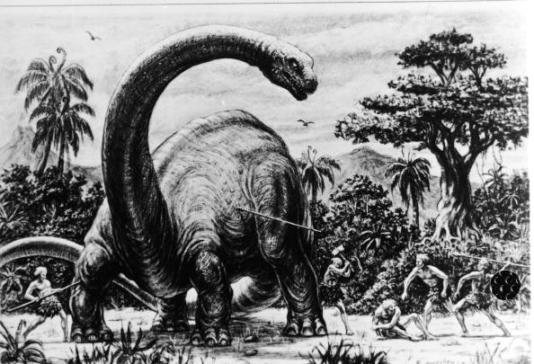 Dinosaur「Illustration For Harryhausen Film」:写真・画像(7)[壁紙.com]