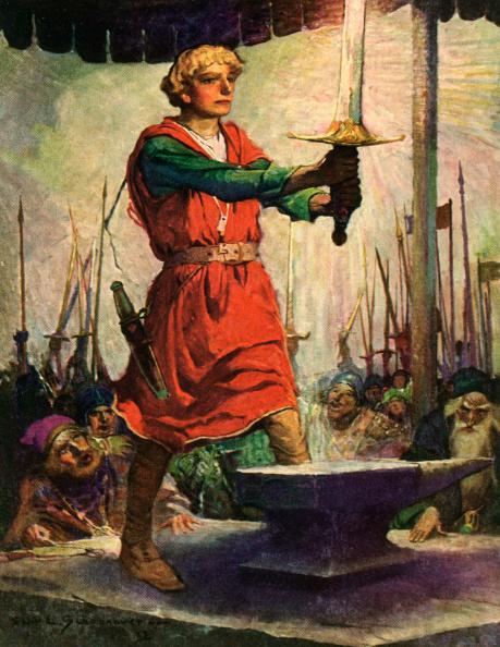 Sword「Arthur And Excalibur」:写真・画像(11)[壁紙.com]