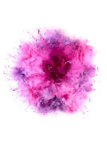Surreal「Colorful Powder Explosion」:スマホ壁紙(14)
