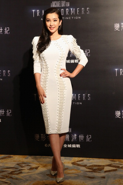 "Li Bingbing「Press Conference And Photo Call For ""Transformers: Age Of Extinction""」:写真・画像(7)[壁紙.com]"