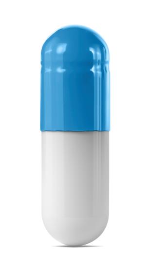 Pill「Blue Capsule」:スマホ壁紙(7)