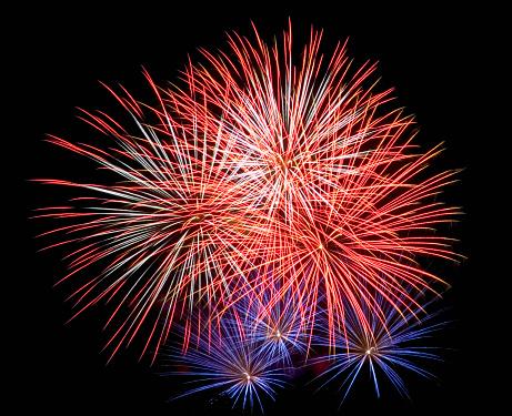 花火「Fireworks Display」:スマホ壁紙(17)
